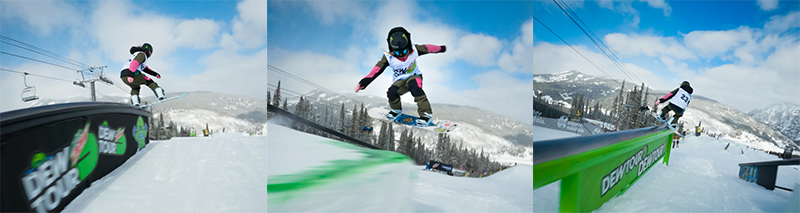 jamie anderson wins 11th dew tour slopestyle