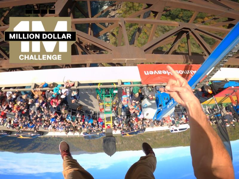 million dollar challenge recipient chase reinford, also known as adrenaline addiction