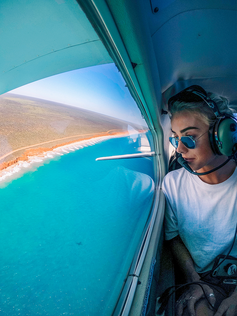 GoPro family member brinkley davies supports australian wild fire devastation