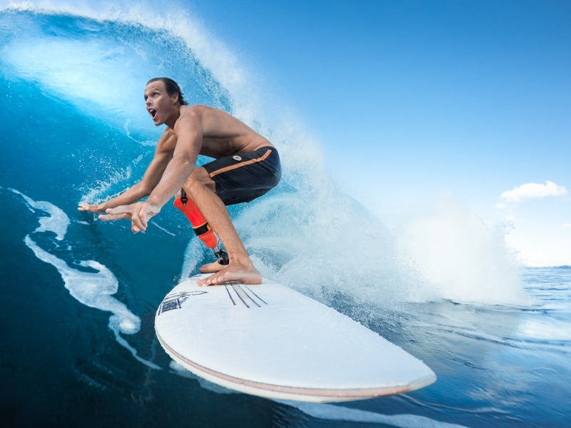 Mike Coots Surfing