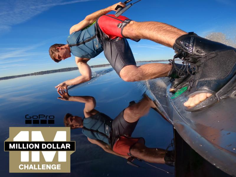 meet the creators behind the million dollar challenge, wakeboarder collin harrington