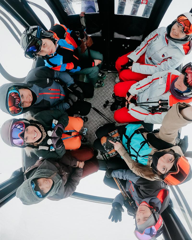 gondola ride with B4BC