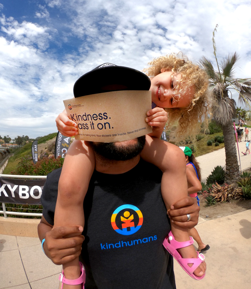 GoPro teams up with Kindhumans movement to help share kind humans making the world a better place.