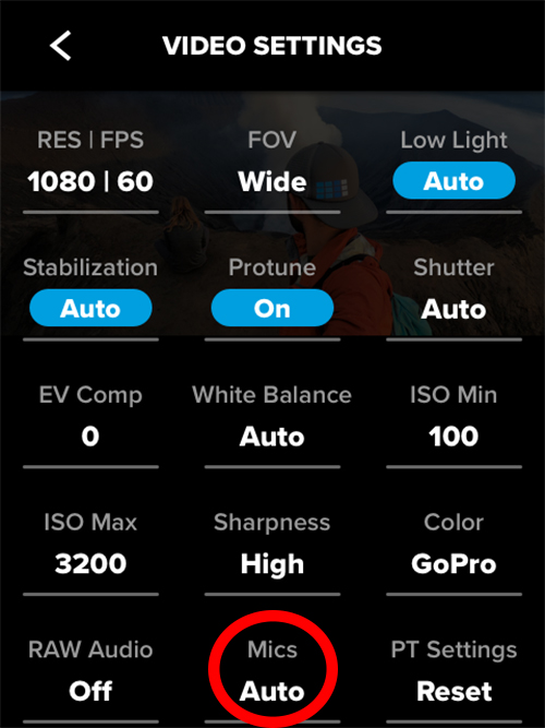 Master The Modes Improved Audio On Hero7 Black Gopro