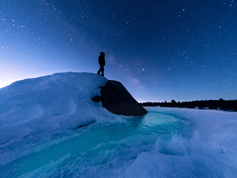 GoPro tips to night photography