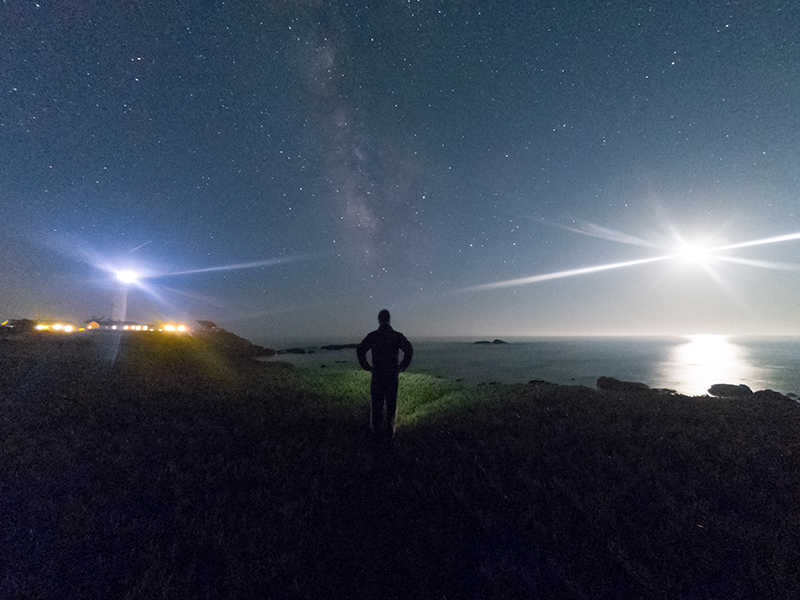 How to use a GoPro for night photography
