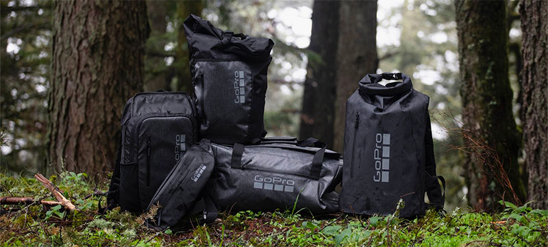 GoPro debuts line of lifestyle gear and bags.