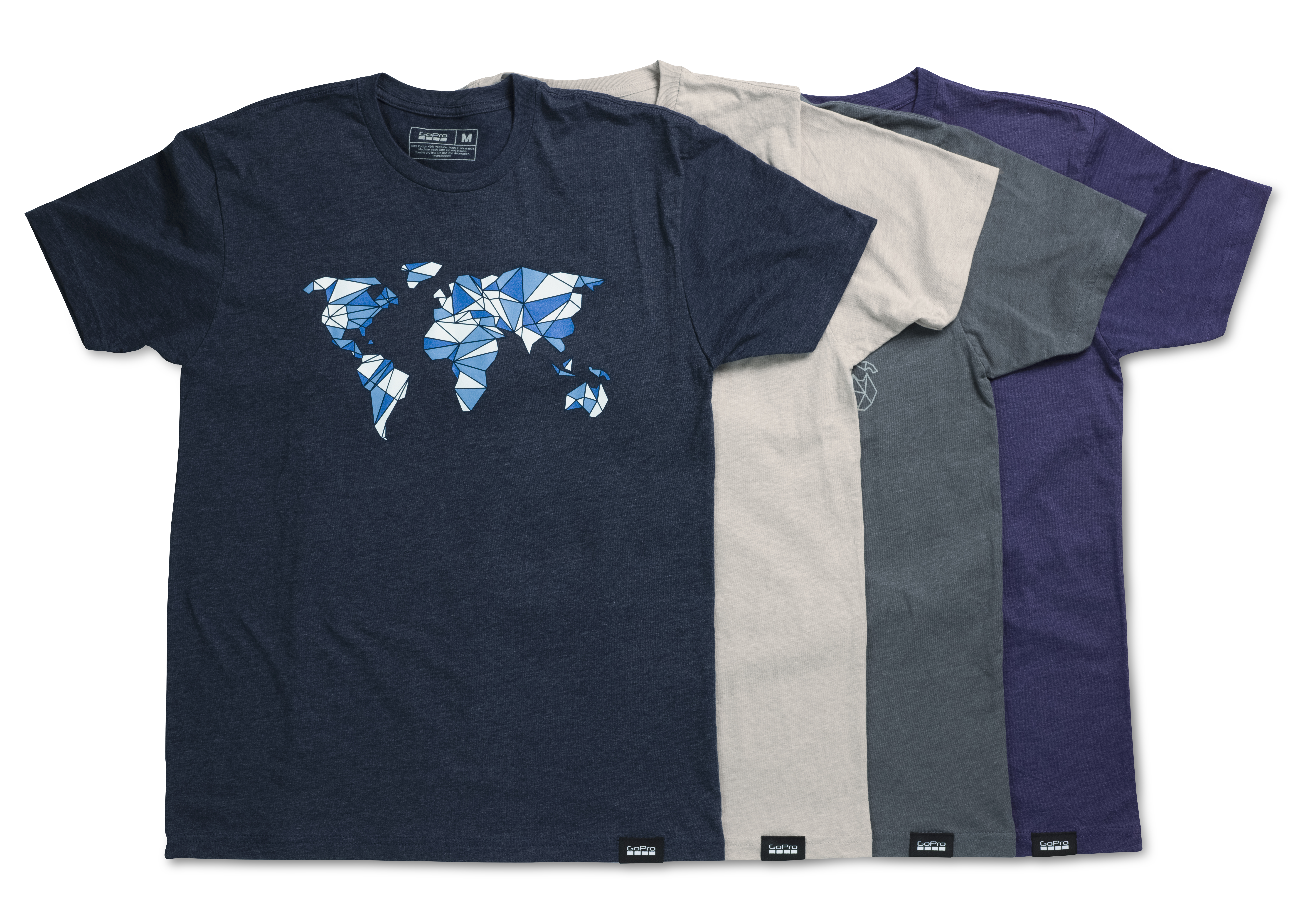 The new lifestyle t-shirts from GoPro.