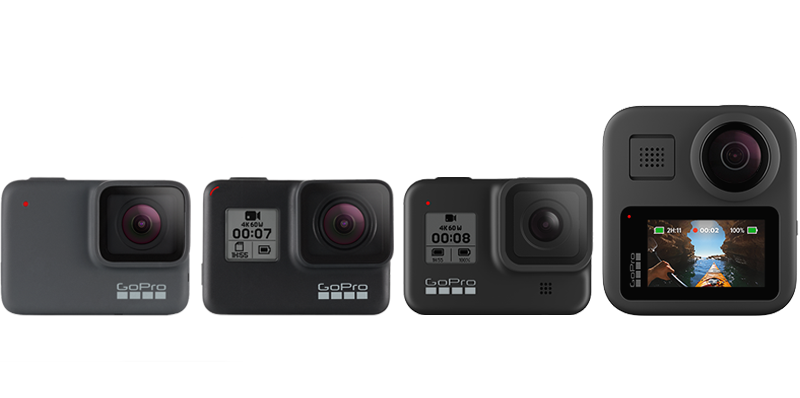 GoPRo 2019 Holiday camera gift guide