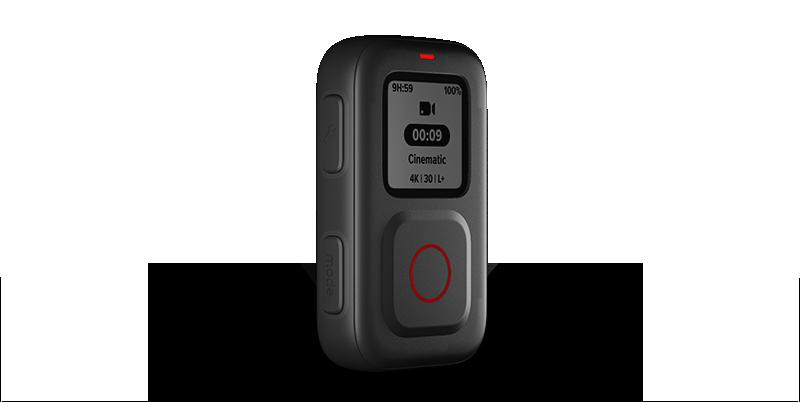 The Remote, el nuevo mando a distancia inteligente de GoPro, es compatible con HERO9 Black, HERO8 Black y GoPro MAX.