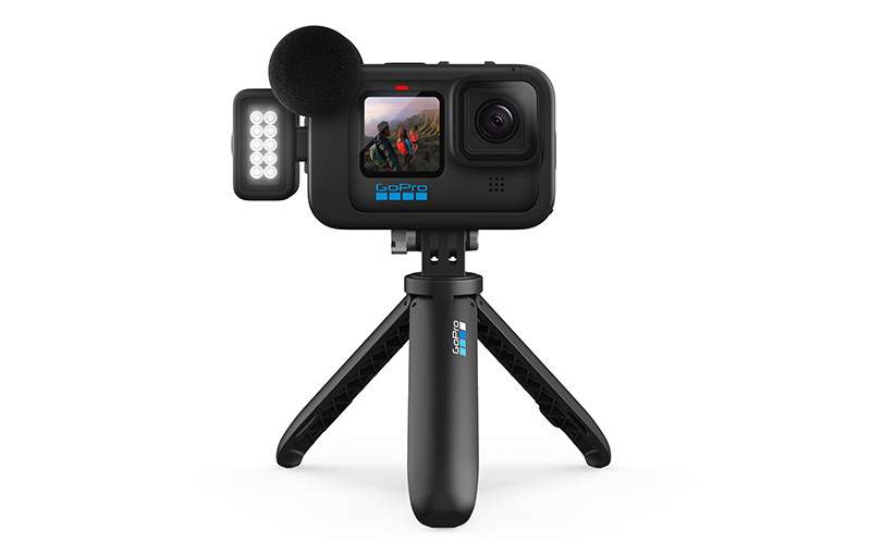 GoPro with Mods on shorty