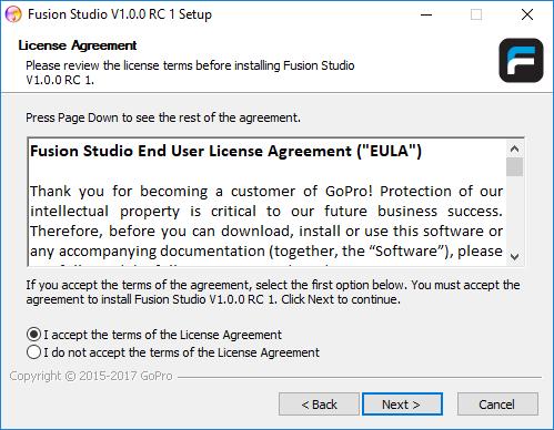 gopro studio download windows xp