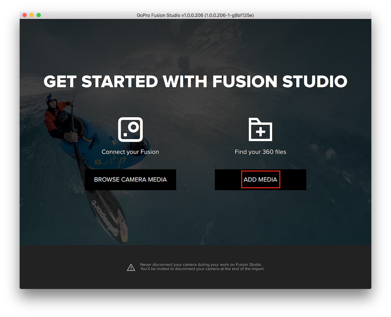 How to Import Media into the GoPro Fusion Studio App
