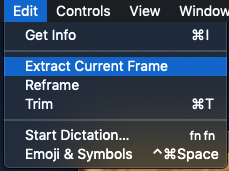 Extract Frame
