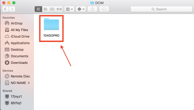 GoPro Folder