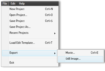 How to Create a Still Image from Video Using GoPro Studio